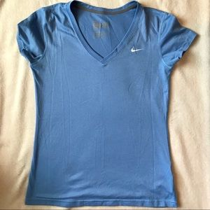 Nice Blue Nike Dri-Fit Shirt